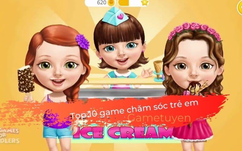 Top 10 game chăm sóc trẻ em cho bé