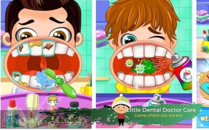 Little Dental Doctor Care bé tập làm nha sĩ