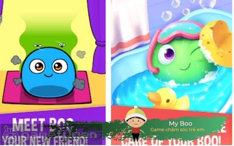 My Boo game trẻ em chăm sóc thú cưng ảo