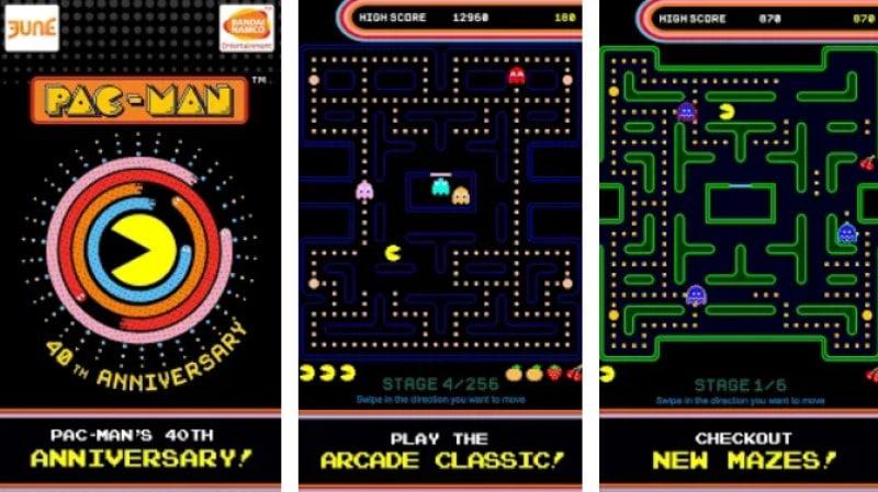 Pac Man game rắn săn mồi cổ điển
