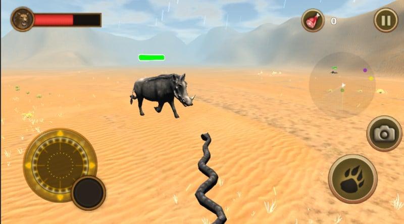 Snake Chase Simulator game rắn mô phỏng đồ họa 3D