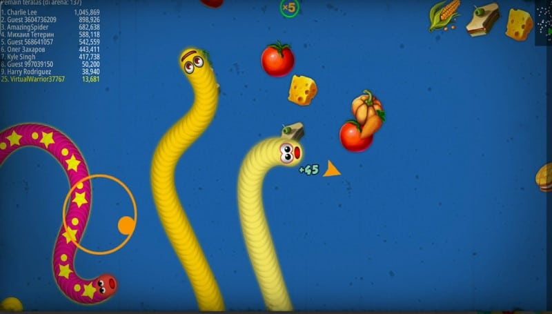 Snake Zone game con rắn săn mồi 3D