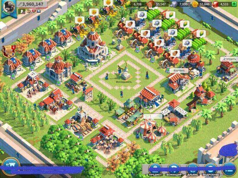 Các chỉ số chính trong game Rise of kingdoms gồm có chỉ số sức mạnh, tài nguyên