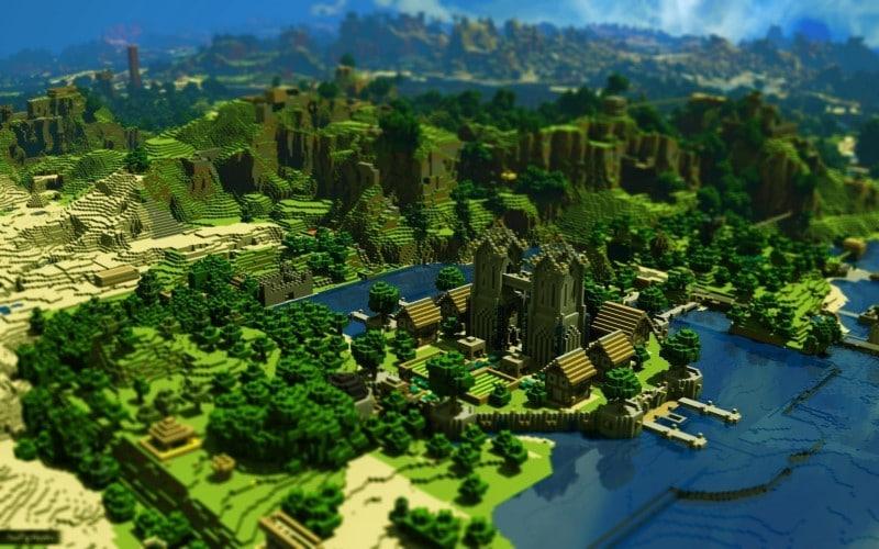 Minecraft game sinh tồn hay trứ danh máy tính bàn