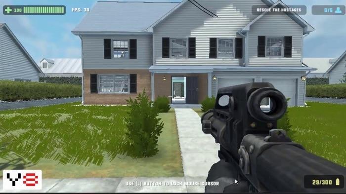 8 game 1 người bắn súng nhất định các game thủ phải chơi 18